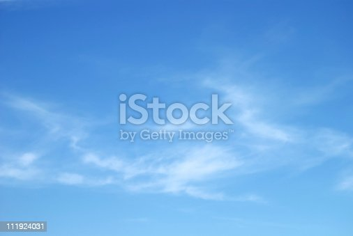 Soft White Clouds Against Blue Sky Stock Photo & More