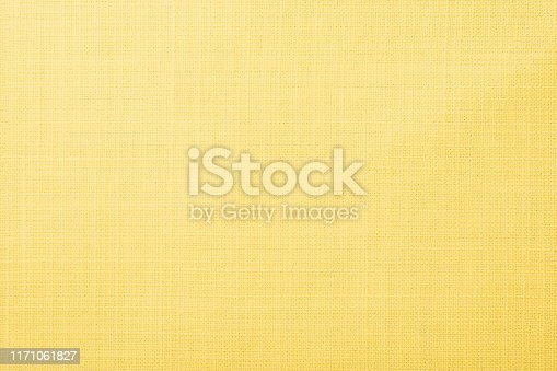 Soft yellow cloth fabric texture wallpaper background