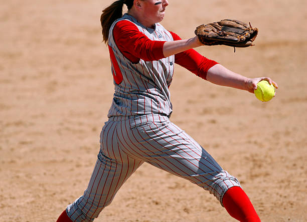Softball-Pitcher – Foto