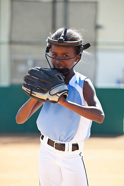 jogador de softbol - softbol esporte - fotografias e filmes do acervo
