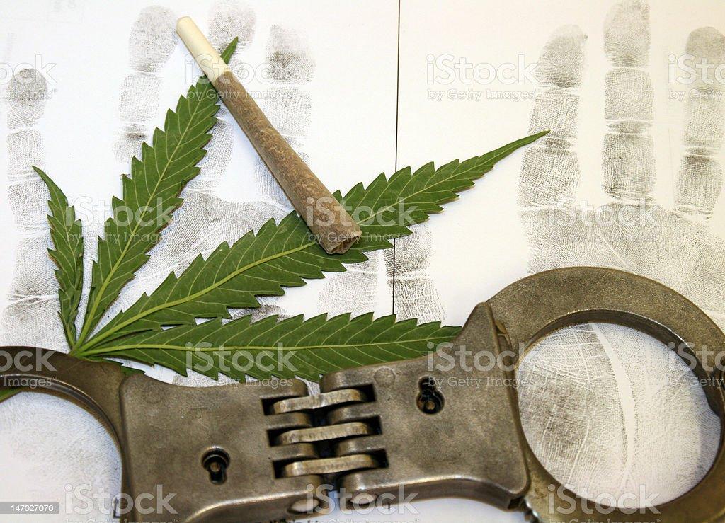 softdrugs against law stock photo