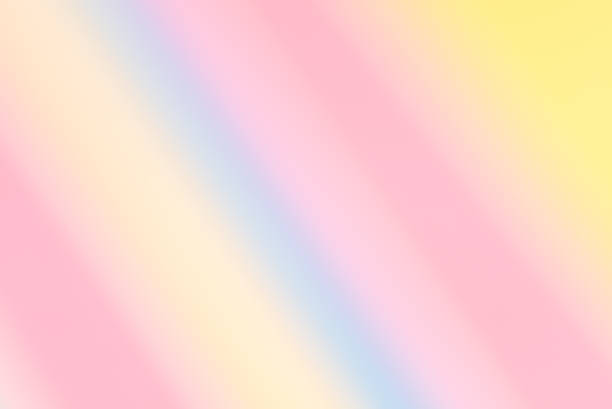 Softly blurred diagonal candy stripes background. Spring, summer. stock photo