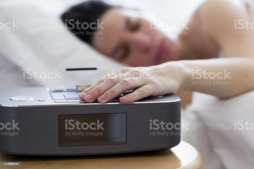 Softly Wake up in the Morning stock photo