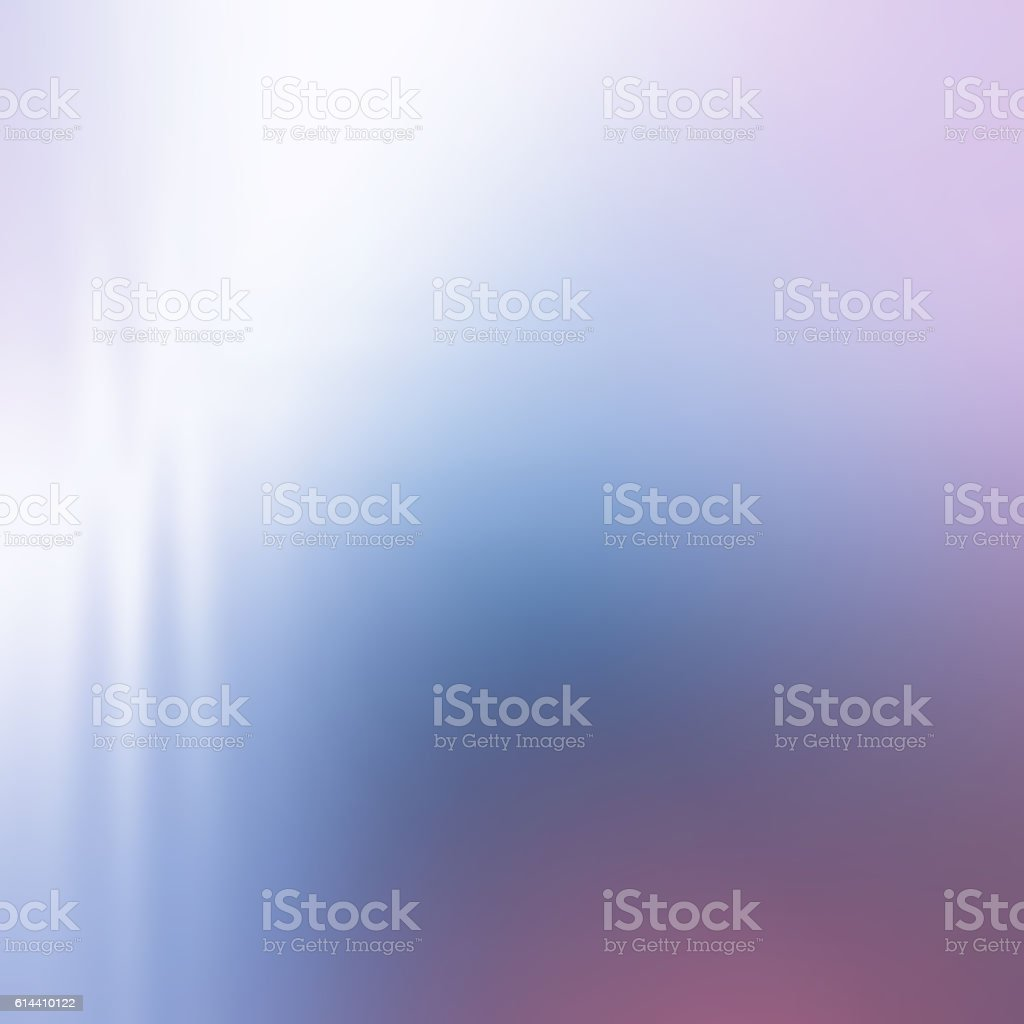 Soft,Muted, Abstract Background, Defocused Chromatic Style, Blue, White, Purple stock photo