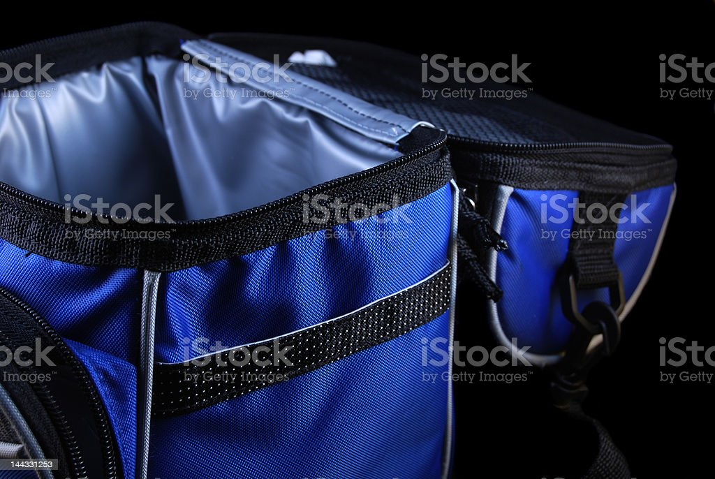 Soft-Sided Insulated Lunch Box royalty-free stock photo