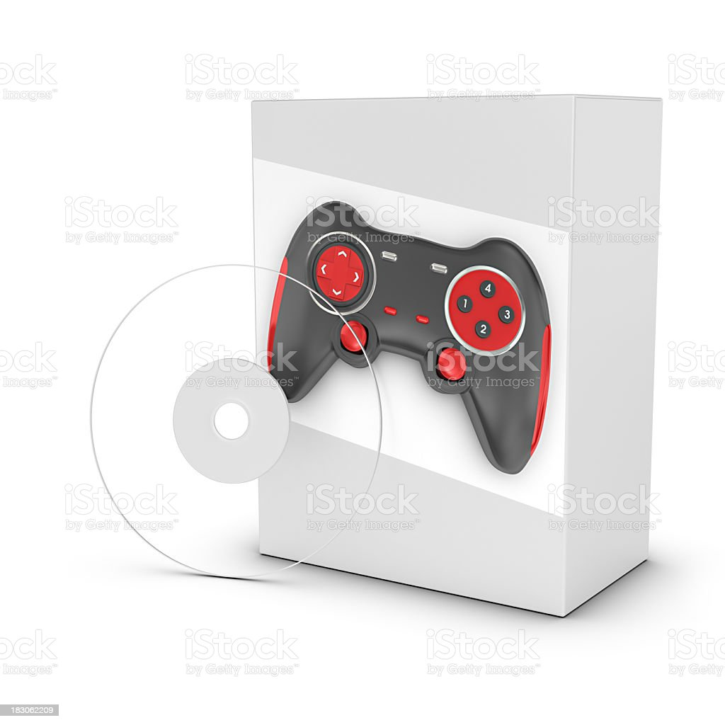 Software - Action Game royalty-free stock photo