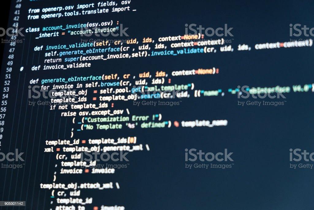 Código De Programación De Desarrollo De Software Secuencia De - Como hacer un invoice en la computadora