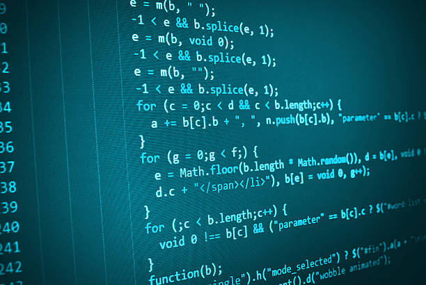 software incorporador programação código de computador - c - fotografias e filmes do acervo
