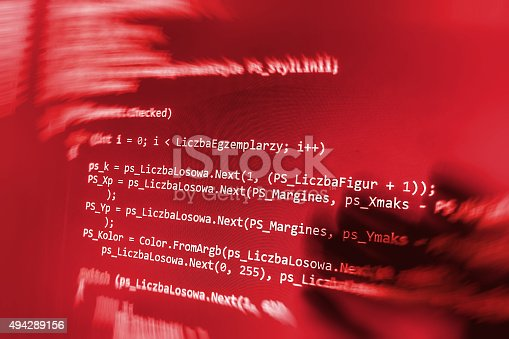 470286356 istock photo Software developer programming code on computer 494289156