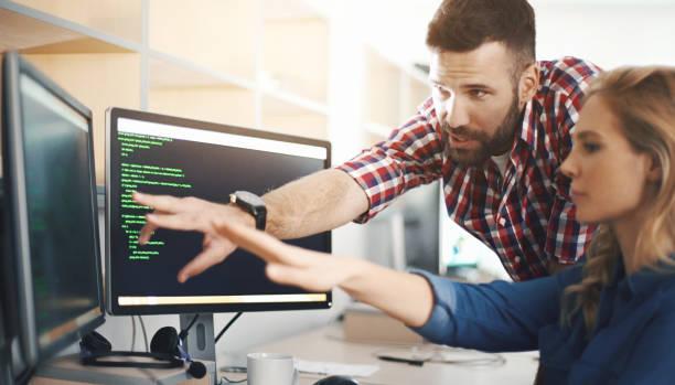 Softwareentwickler am Werk – Foto