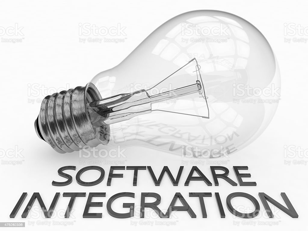 Software Integration stock photo