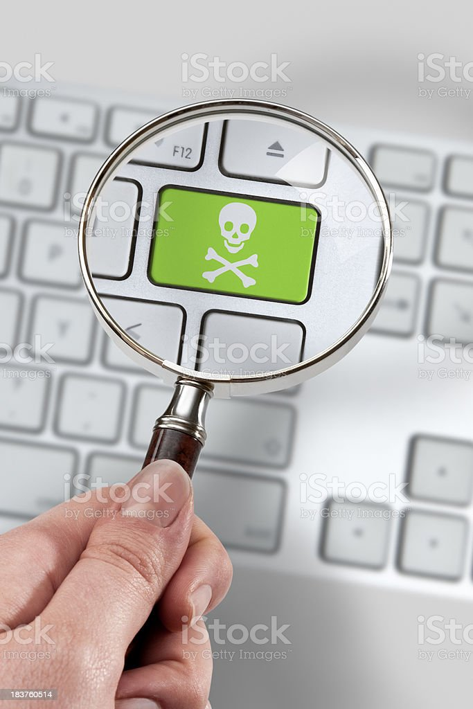 Software pirates royalty-free stock photo