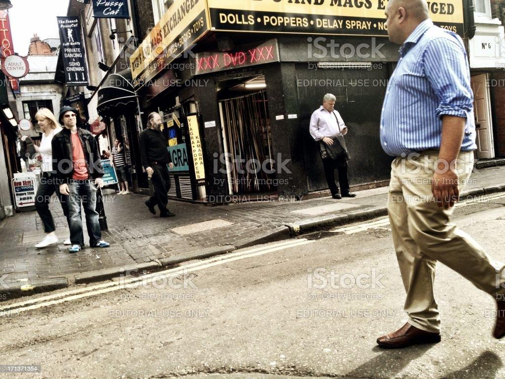 Soho, Londres. - foto de stock