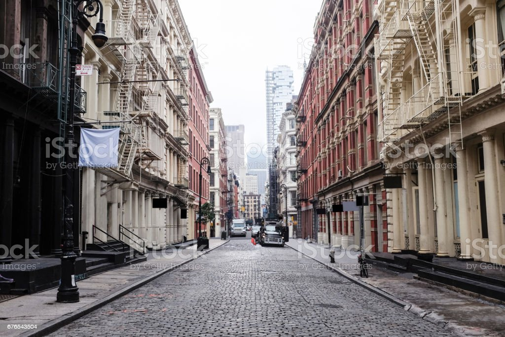 Soho New York stock photo
