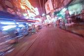 Soi Cowboy at night in Bangkok, Thailand