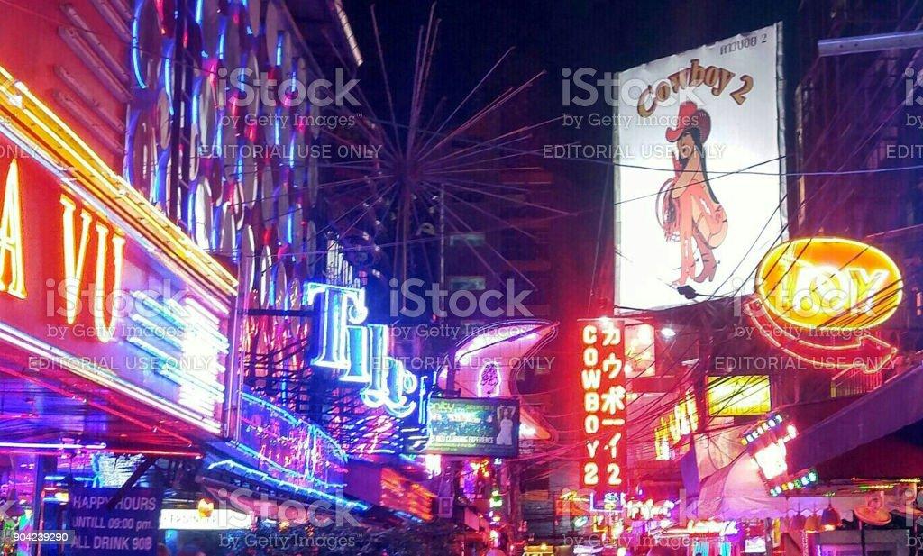 Soi Cowboy, Bangkok stock photo
