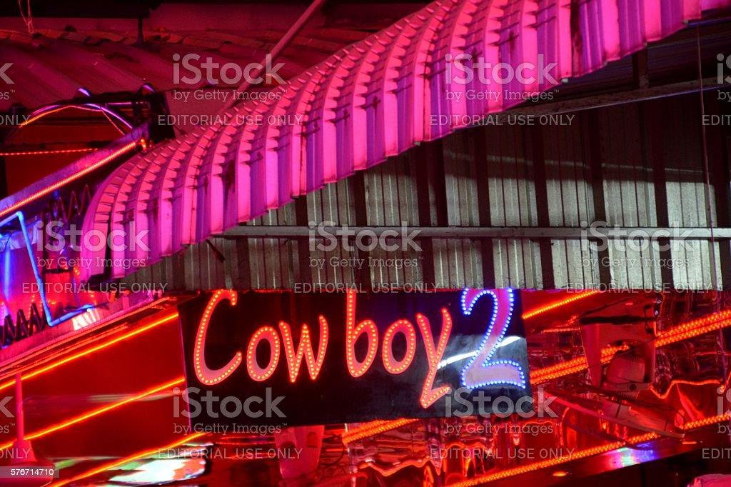 Soi Cowboy, Bangkok, Thailand stock photo