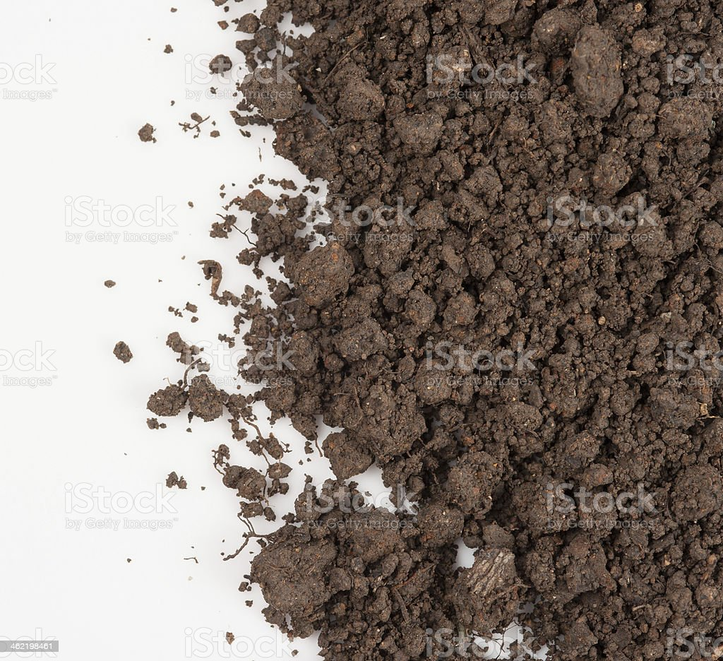 Soil background stock photo