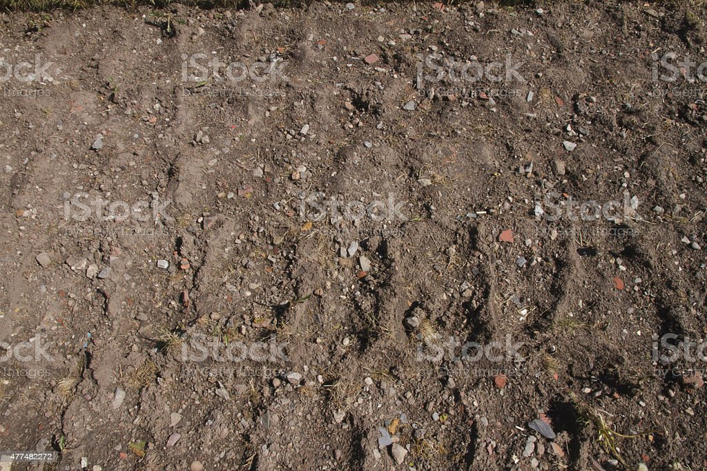 Soil earth background texture stock photo
