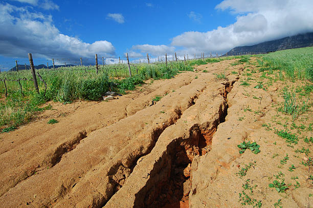Soil erosion  eroded stock pictures, royalty-free photos & images