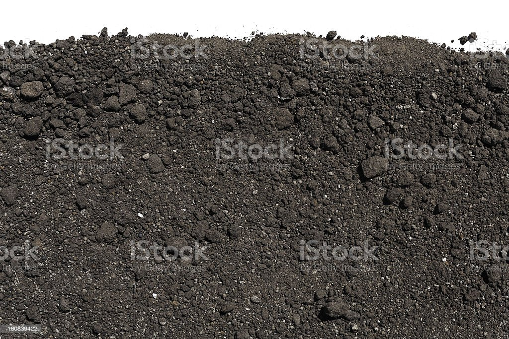 Soil or dirt Background royalty-free stock photo