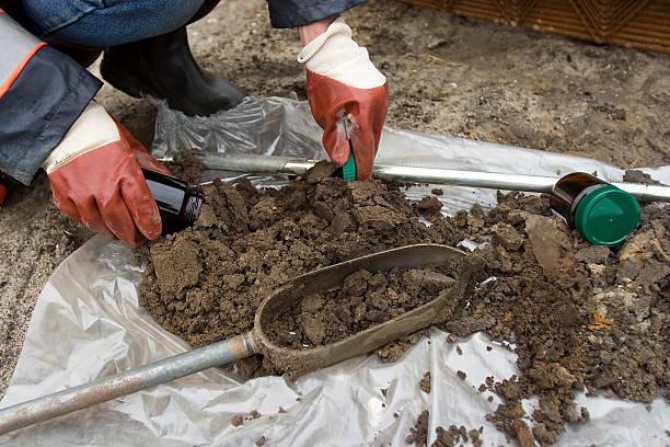gleby próbki - geologia zdjęcia i obrazy z banku zdjęć