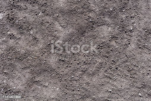 927125180 istock photo Soil texture background top view 1141001900