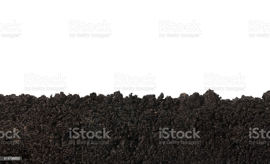 Soil texture stock photo