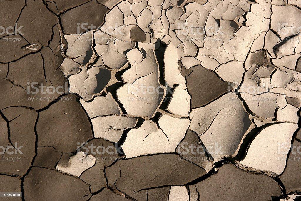 Soil texture royalty-free stock photo