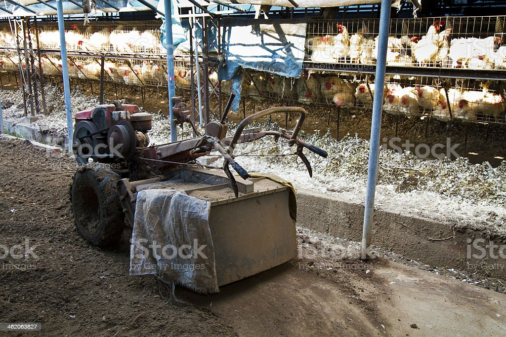 soil tractor royalty-free stock photo