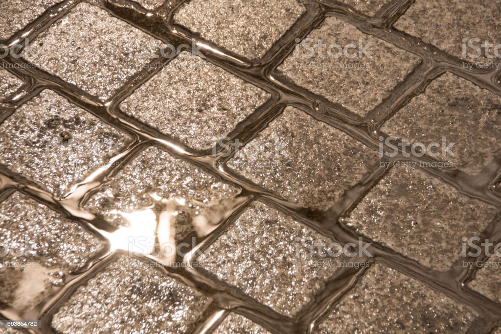 Suelo con lluvia - Royalty-free Backgrounds Stock Photo