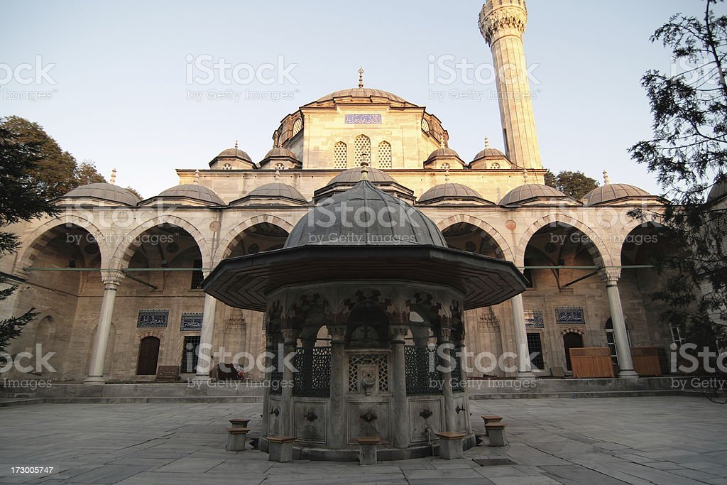 Sokollu Mehmet Pasha Mosque royalty-free stock photo