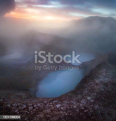 istock Sol de la Manana volcanic Geyser in Potosi Department of south-western Bolivia in Bolivian Altiplano plateau 1324186004