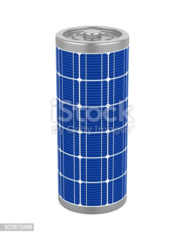 istock Solar Battery Isolated 922673396