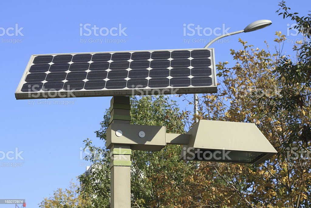 solar battery royalty-free stock photo