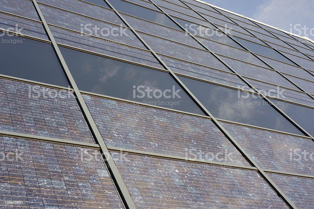 Solar Building Facade royalty-free stock photo