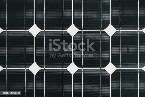 istock Solar cell battery panel detail 1002705430