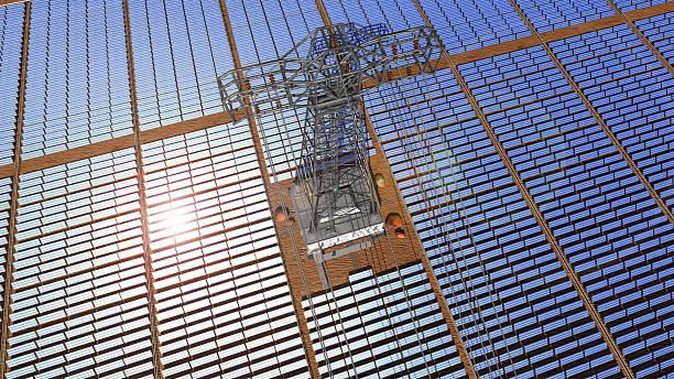 solar Zelle park Bird's eye view – Foto