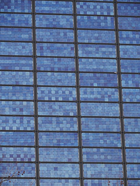 Solar Cell solar cell on on roof producing electricity antipollution stock pictures, royalty-free photos & images