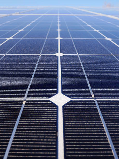 solar cells roof solar cell on on roof producing electricity antipollution stock pictures, royalty-free photos & images
