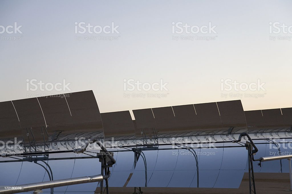 Solar Collectors royalty-free stock photo