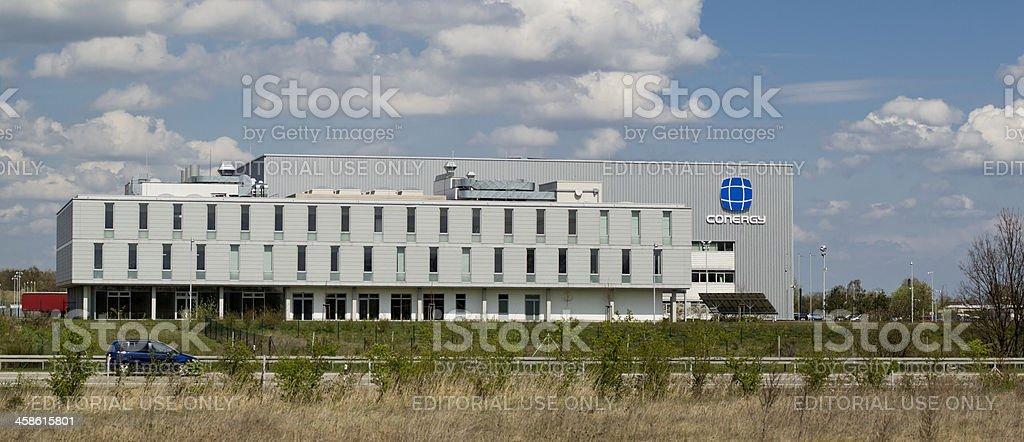 Solar company Conergy royalty-free stock photo