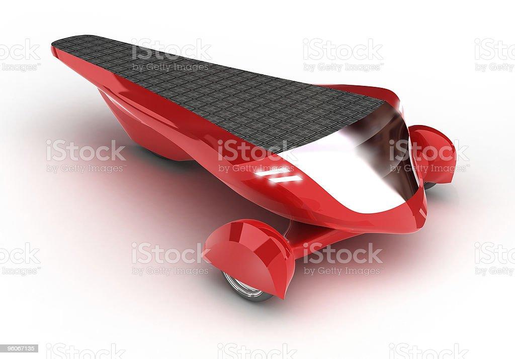 Solar Concept Car royalty-free stock photo