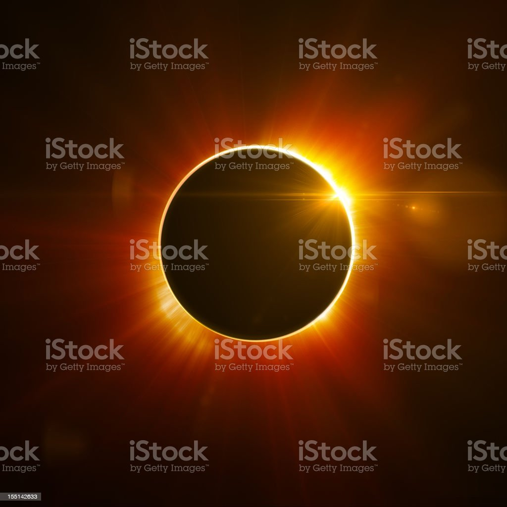 Solar Eclipse royalty-free stock photo