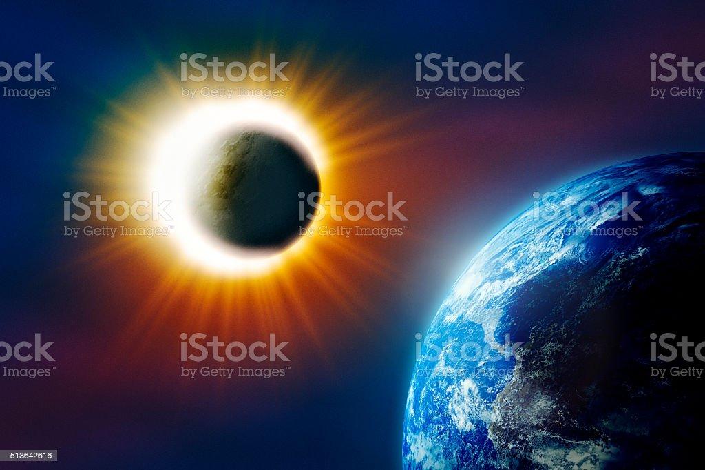 Solar eclipse – Foto