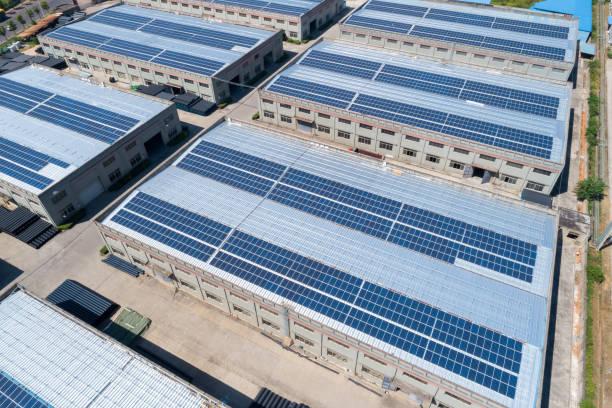 Solarenergie auf den Dächern – Foto