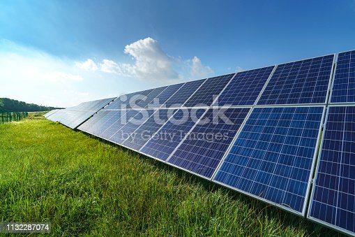 Solar energy in the forest