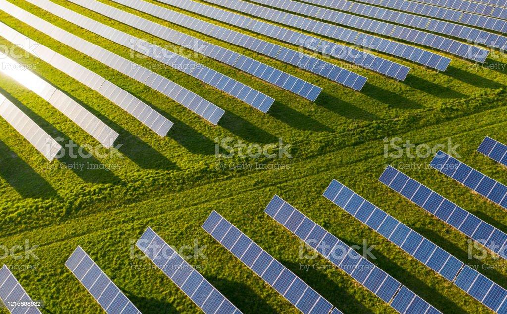 Solarenergie - Lizenzfrei Ausrüstung und Geräte Stock-Foto