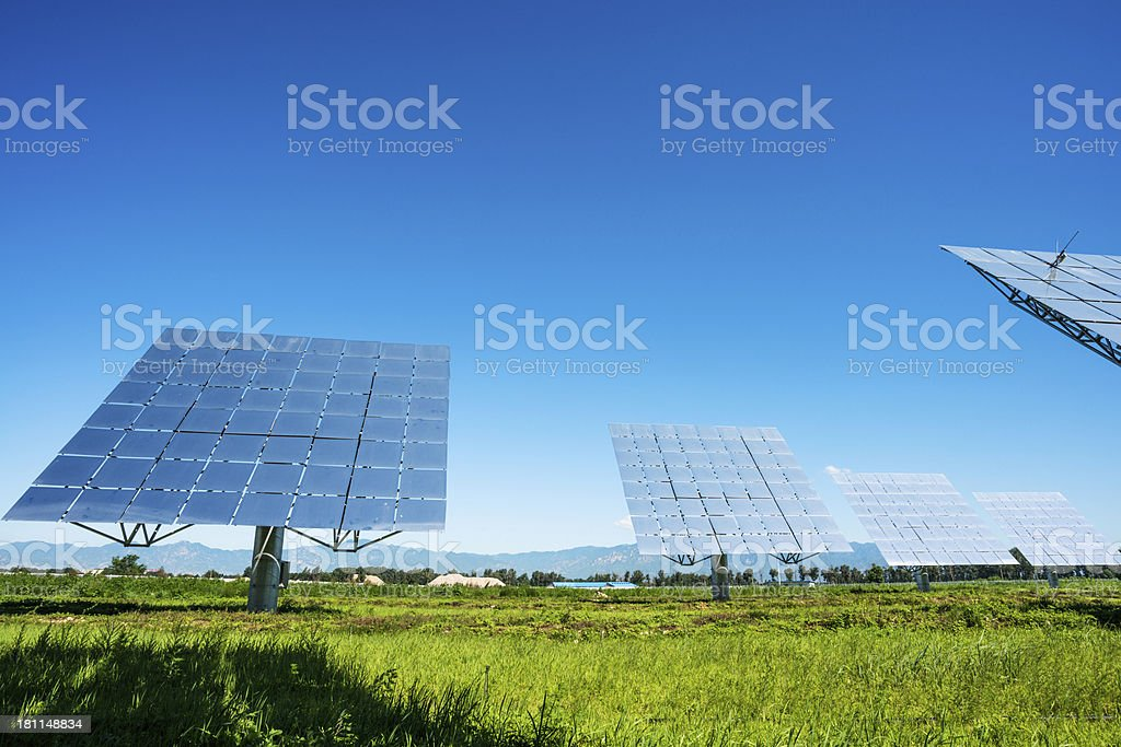 solar energy royalty-free stock photo