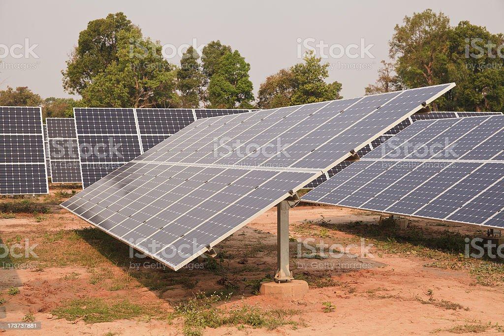 Solar energy plants royalty-free stock photo